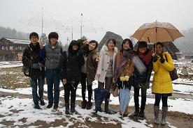 寒さもなんのその、若者の元気に圧倒されました。