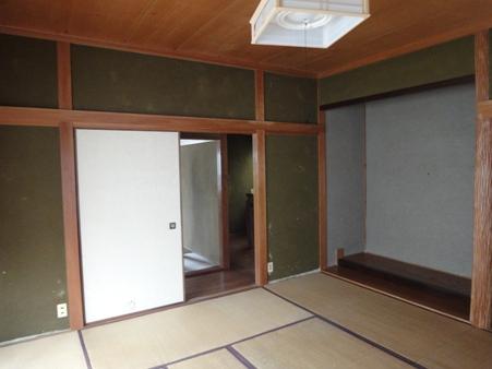 Oさん宅和室壁リフォーム