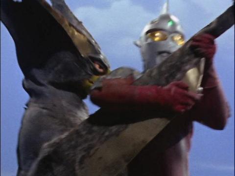 ウルトラセブンVSギエロン星獣