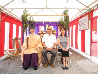 安藤金寿様_地鎮祭