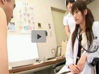 無修正 xvideosでGood評価が90%!美人女医のエロ過ぎる中出し治療