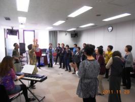 大岡CC初めて歌うゴスペル講座 14