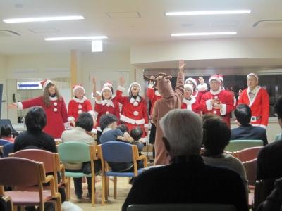 12.3クリスマス会 サンタ