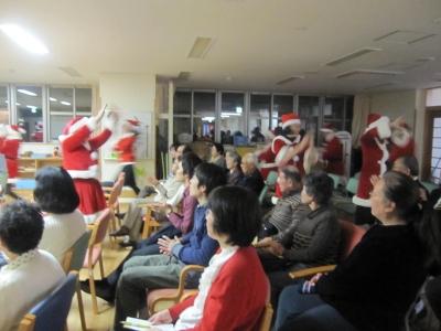 2011.12.3踊るサンタ