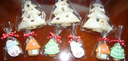 クリスマス発酵クッキー