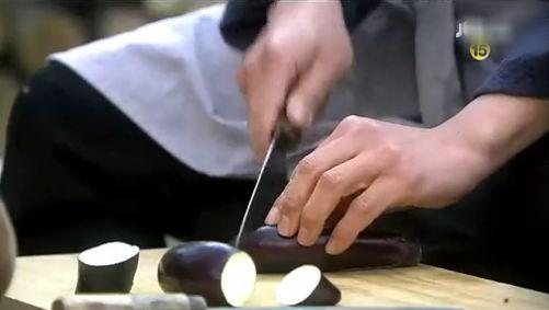 発酵1454 茄子を切るホテ
