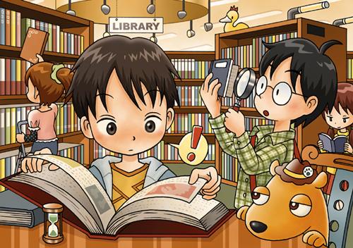 図書館500